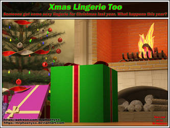 XMas Lingerie Too 000 Cover by MrPhoenyxx