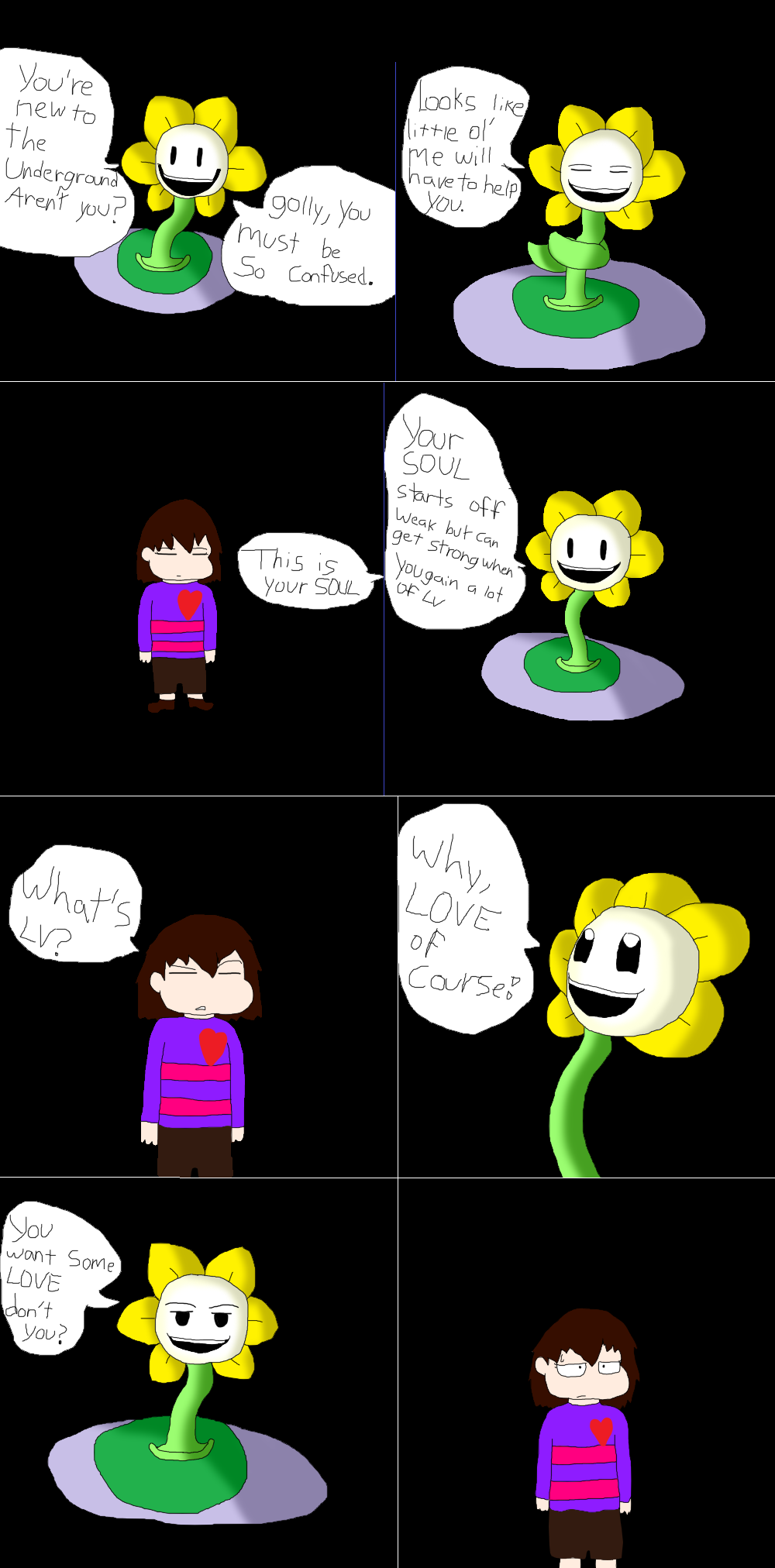 Undertale AU comic page 2 by WolfLover12321 on DeviantArt