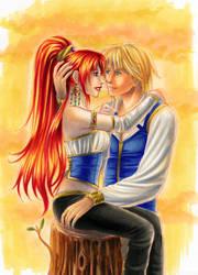 Shannah and Kei by Mariposa by iridesia