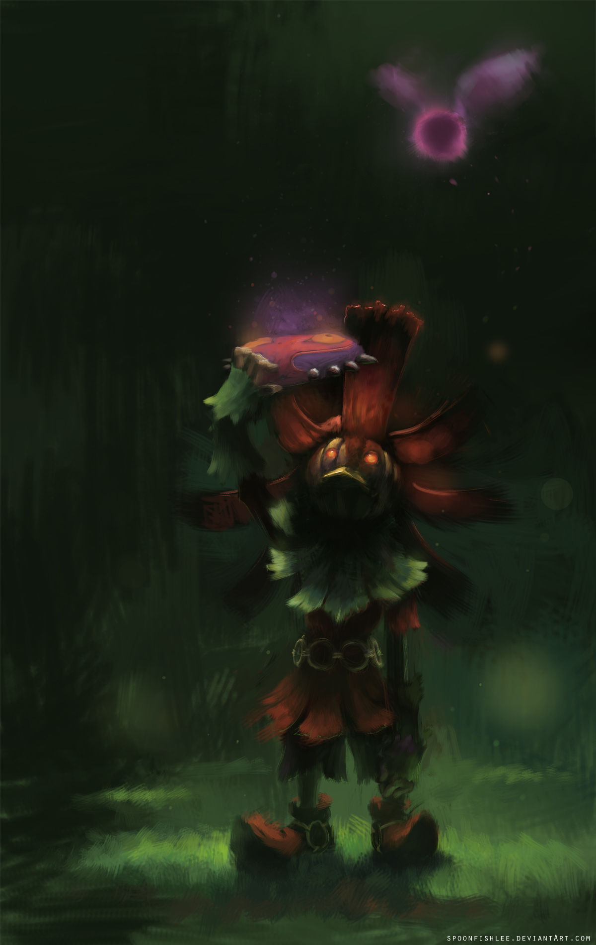 Skull Kid, Majora's Mask by SpoonfishLee