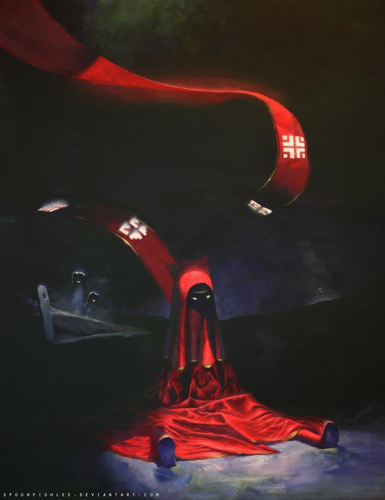 Journey: The Drop, Acrylic by SpoonfishLee