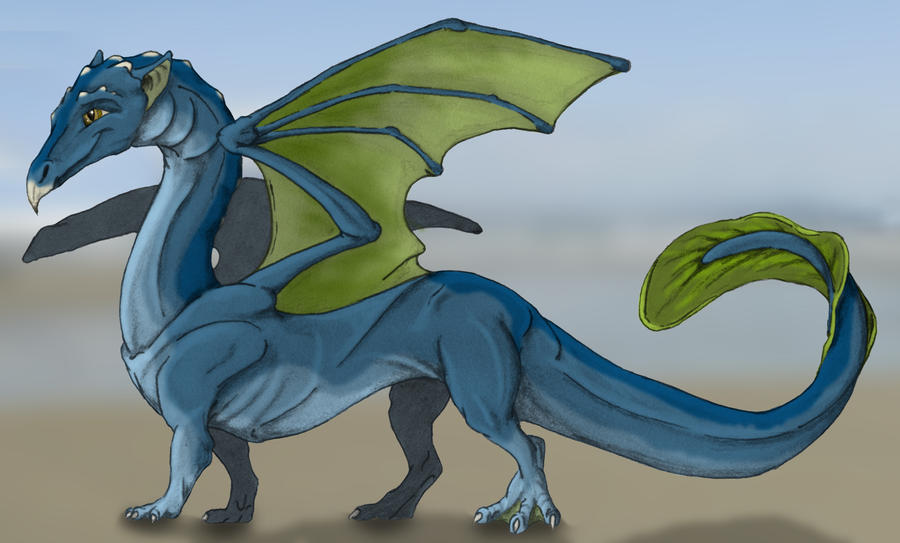 Water Dragon by Achack