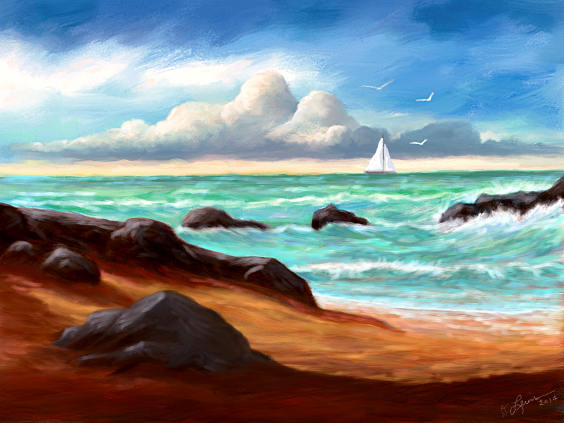 Coast View 3 by ghost549