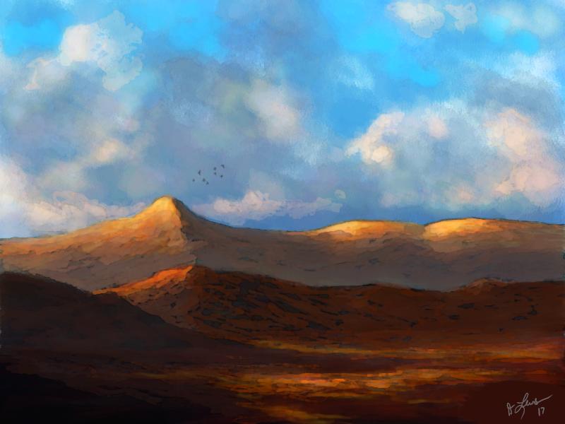 Desert Sunrise by ghost549