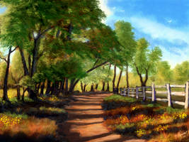 <b>Sun Dappled Lane</b><br><i>ghost549</i>
