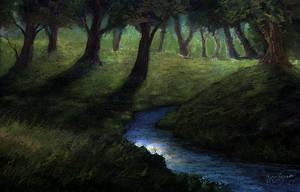 <b>Woodland Stream</b><br><i>ghost549</i>
