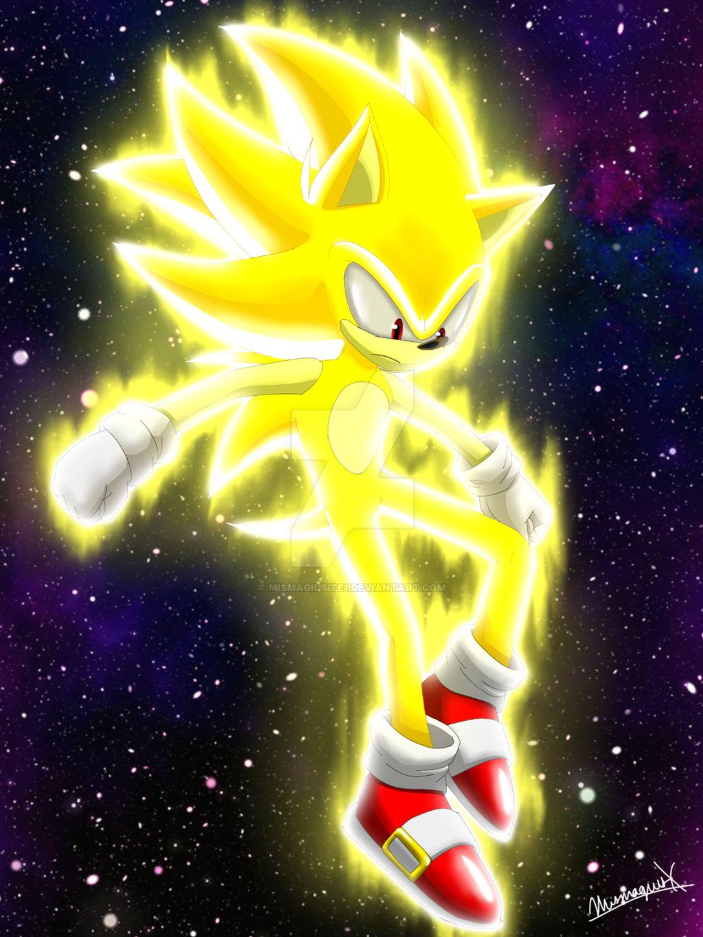 Super Sonic By Mismagiusite1 On Deviantart
