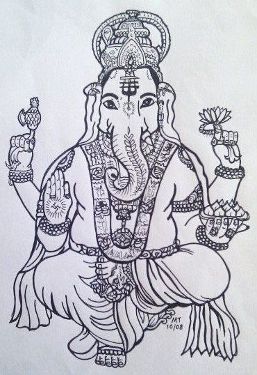 Ganesha By Battenburgg On DeviantArt