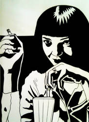 Mia Wallace by Battenburgg