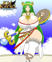 Commission: Kid Icarus: Palutena by IGPHHangout