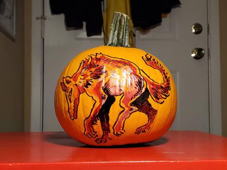 pumpkin wolf