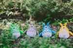How To Make Totoro Plush! by kawaiikakkoiisugoi