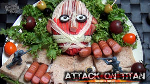Attack on Titan Food Art Otaku University Contest