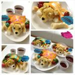 Shiba Inu Omurice Recipe