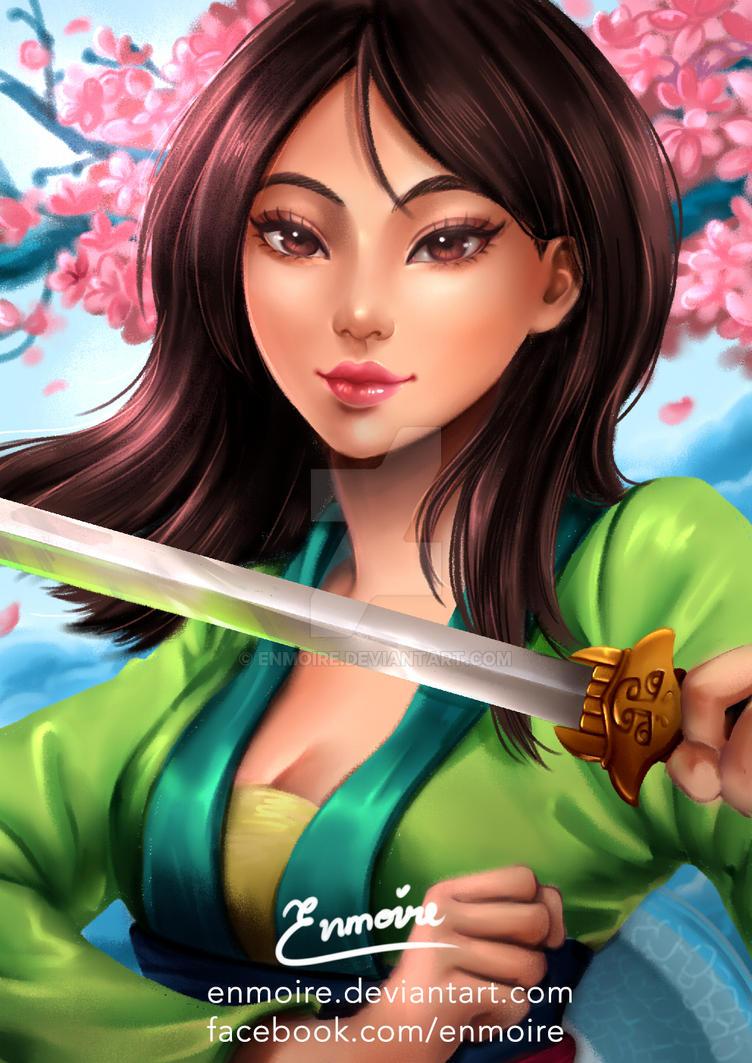 Mulan By Enmoire On DeviantArt
