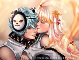 Couple Comm : Yuki and Himeko by enmoire