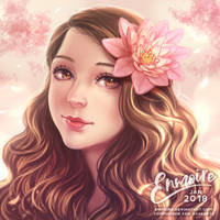 Portrait Comm : Ashe by enmoire