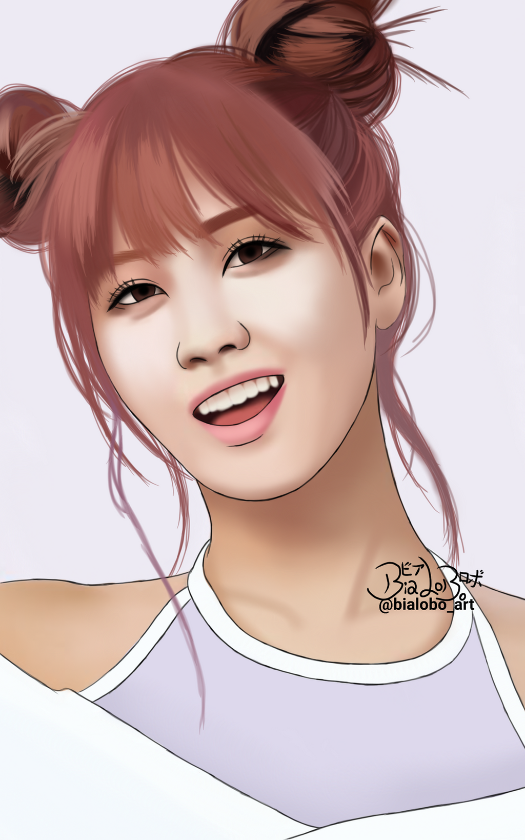 Momo Twice Fanart Bybialobo By Bialobo On Deviantart