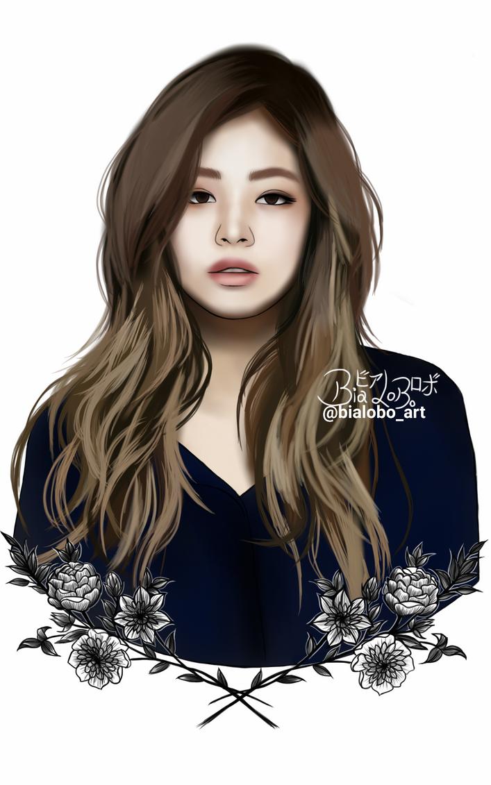 Jennie BLACKPINK Fanart ByBiaLobo By BiaLobo On DeviantArt
