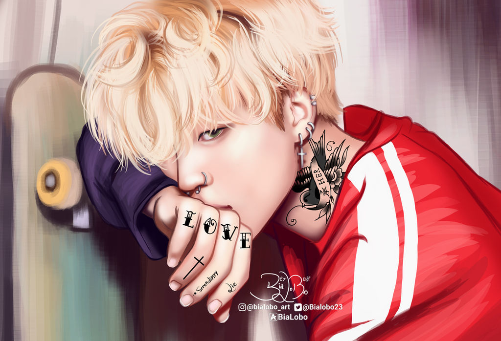 Jimin Tattoo Bts Fanart Bybialobo By Bialobo On Deviantart