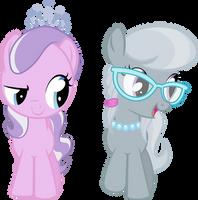 Diamond Tiara und Silver Spoon by Lumorn