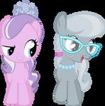 Diamond Tiara und Silver Spoon