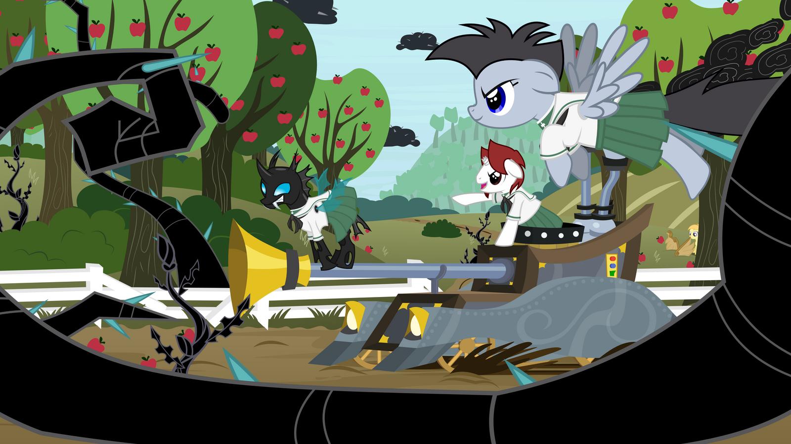 Ponys und Panzer (OC's) by Lumorn