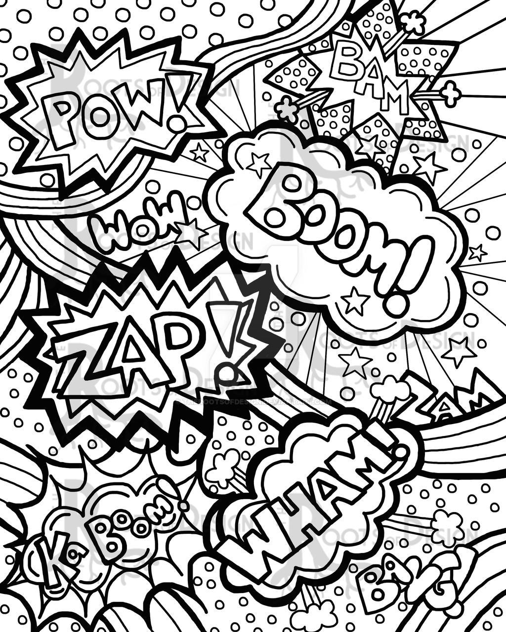 ComicWordsROD by TheRootsOfDesign on DeviantArt