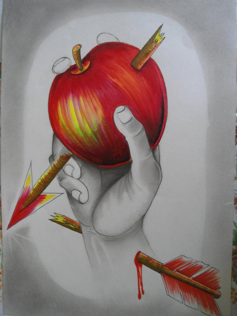 the shinigami like apples by tr3slibras