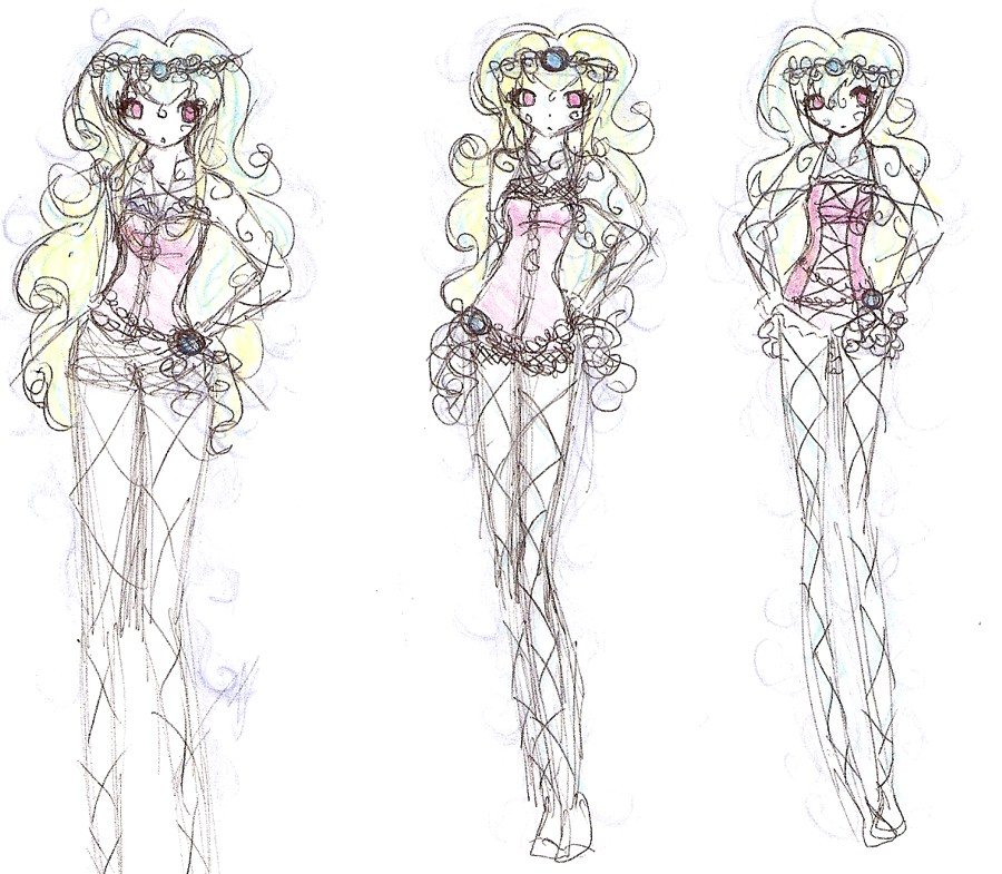Gallery For gt Manga Clothes Design