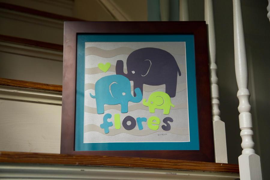 Elephant Paper Cut by joannchilada