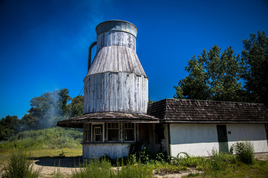 The Milk Bottle Building by joannchilada