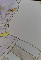 beerus by chile3456