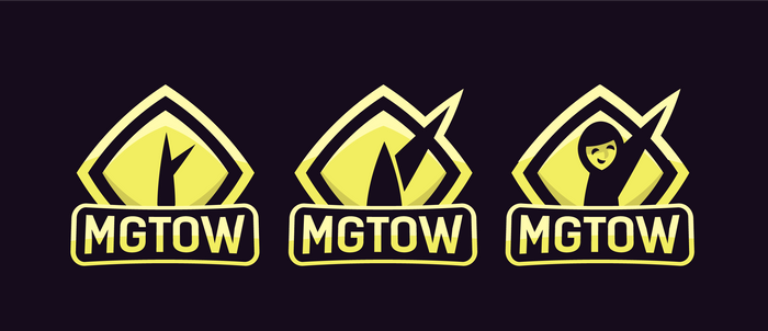 MGTOW logo variants e-sports style