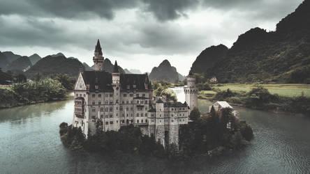 Castle island by lextragon