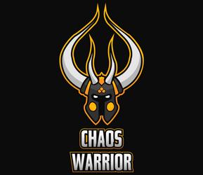Chaos warrior illustration by lextragon