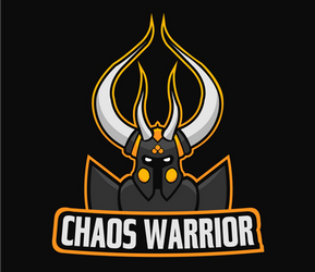 Chaos warrior illustration v2 by lextragon