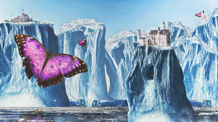 Land of the collosal pink butterflies by lextragon