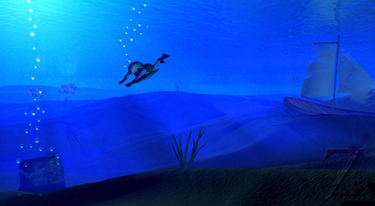 Underwater Exploration by HeroofTime123