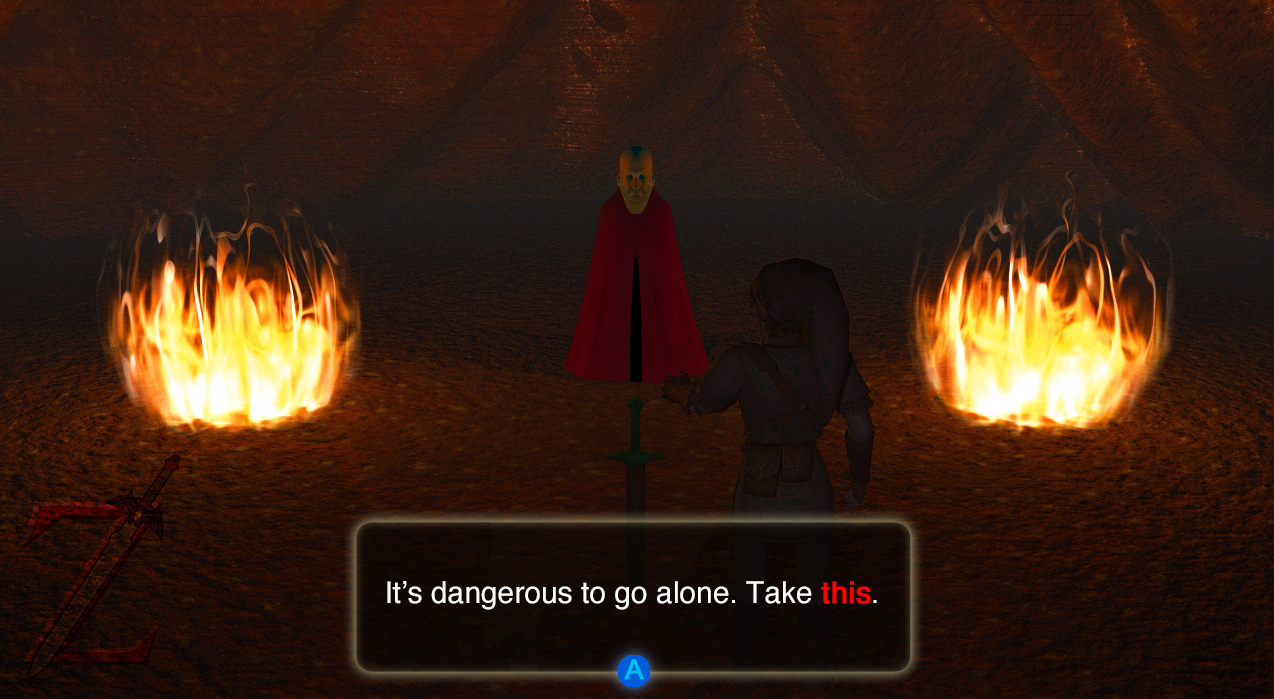 It S Dangerous To Go Alone By Herooftime123 On Deviantart