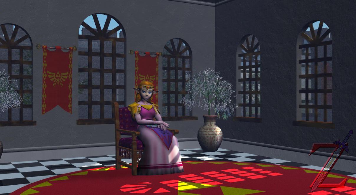 Zelda's Sunroom by HeroofTime123