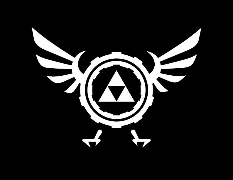 Zelda Steampunk logo by HeroofTime123