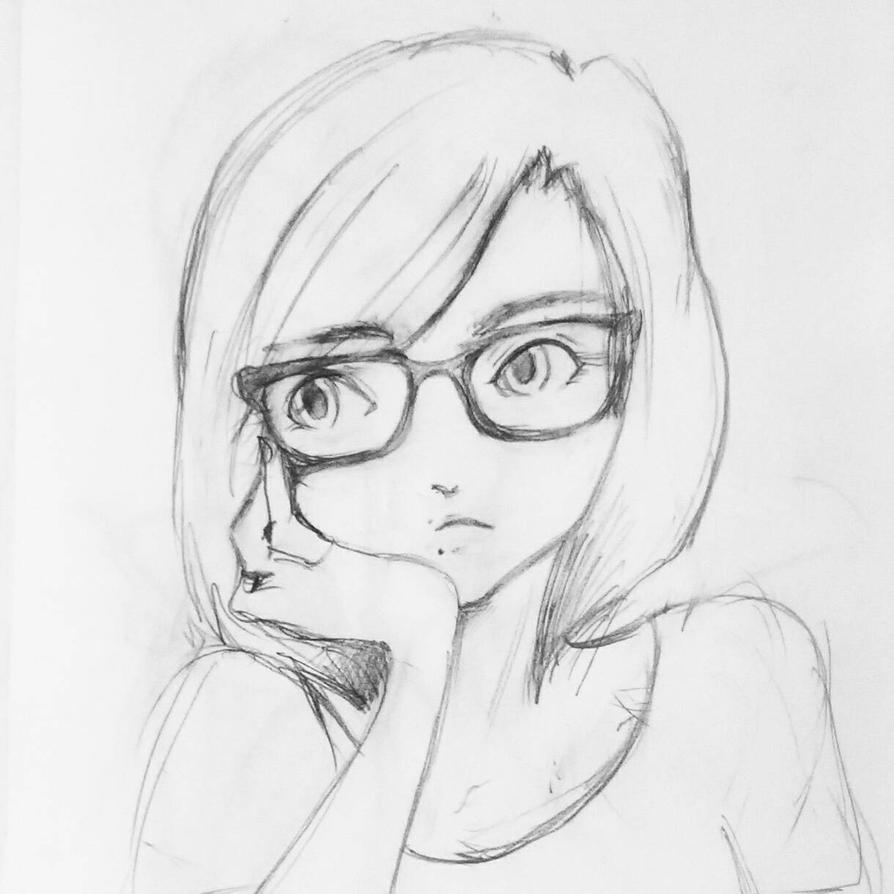 Self portrait  by Akemi14