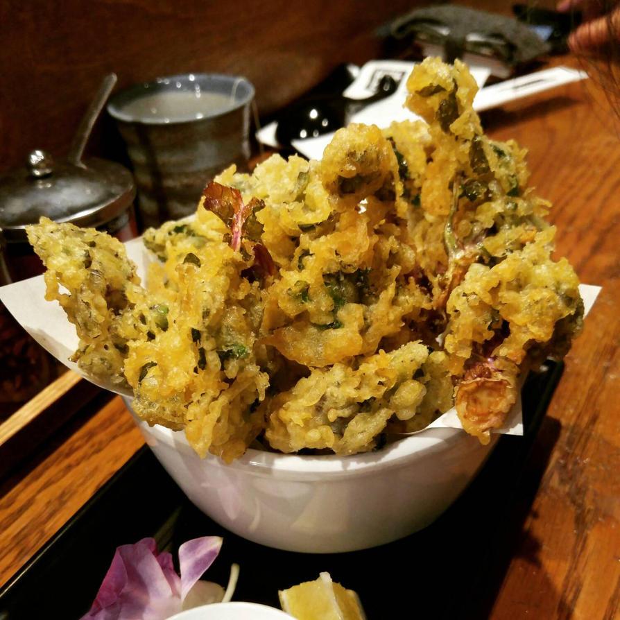 kale tempura by Akemi14