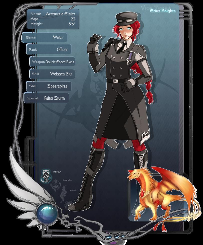 VT: Officer Artemisia by sirblckbrd