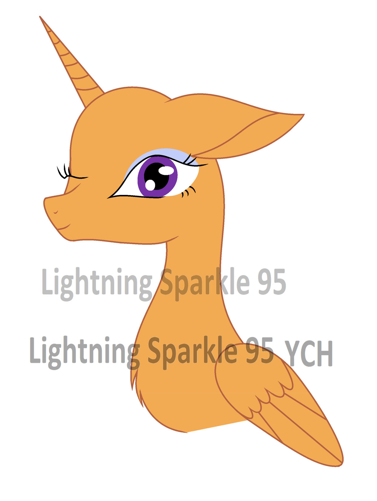 MLP : My second  YCH !