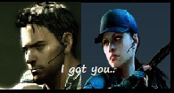 Chris x Jill : I got you by KaixTomiko