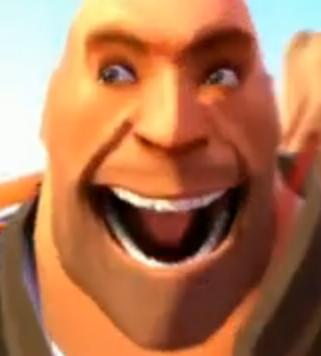 meet the heavy funny face
