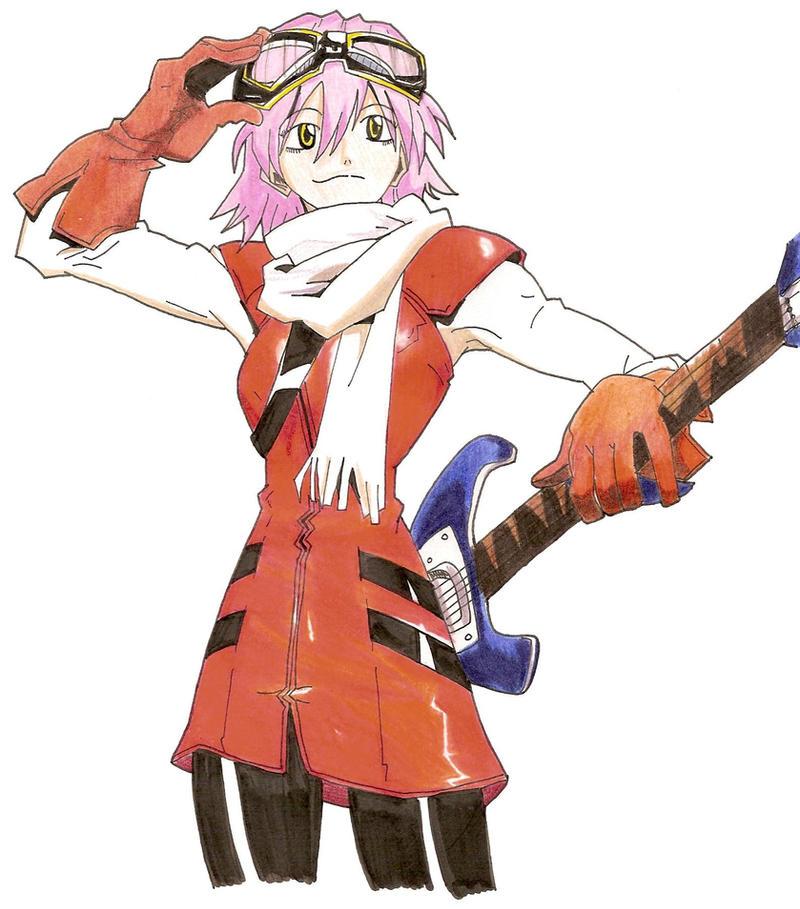 Haruhara haruko by rockerneko on deviantart - Flcl haruko haruhara ...