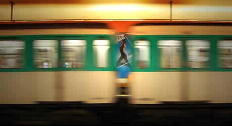 entrevue au metro by mickael-bedier